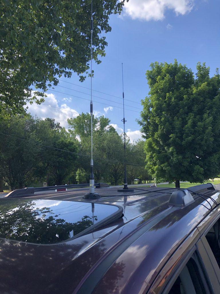 Fox Hunt antennas